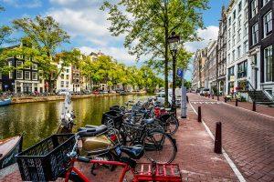 W Holandii wszystko kręci się wokół rowerów